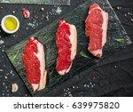 new york strip porterhouse... | Shutterstock . vector #639975820