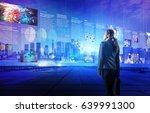 online curation media concept.... | Shutterstock . vector #639991300