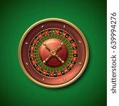 las vegas casino roulette wheel ... | Shutterstock .eps vector #639994276