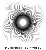 geometric spiral element series.... | Shutterstock .eps vector #639998560