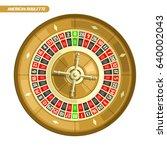 vector illustration of roulette ... | Shutterstock .eps vector #640002043
