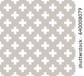 vector seamless pattern. modern ...   Shutterstock .eps vector #640008079