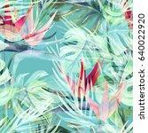 Exotic Plant Seamless Pattern....