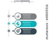 business data. process chart.... | Shutterstock .eps vector #640035316