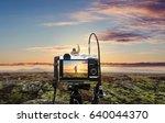 photograph a natural landscape... | Shutterstock . vector #640044370
