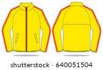 jacket design for template | Shutterstock .eps vector #640051504