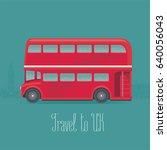 London  Britain Double Decker...