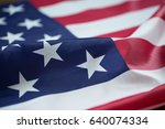 crumpled of united states of... | Shutterstock . vector #640074334