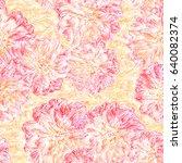 seamless background. flowers.... | Shutterstock . vector #640082374