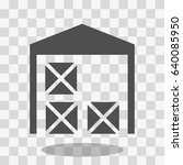 warehouse icon | Shutterstock .eps vector #640085950