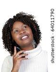 an african american woman... | Shutterstock . vector #64011790