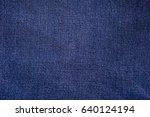 blue jeans background  jeans... | Shutterstock . vector #640124194