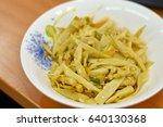 Stir Fry Preserved Bamboo Shoo...