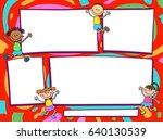 vector brochure backgrounds... | Shutterstock .eps vector #640130539