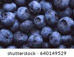 blueberries | Shutterstock . vector #640149529