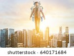 business advantage. businessman ... | Shutterstock . vector #640171684