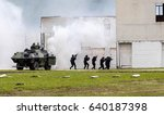 special police team in action | Shutterstock . vector #640187398