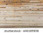 wooden panel for wood...   Shutterstock . vector #640189858