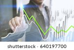 businessman analysis finance... | Shutterstock . vector #640197700