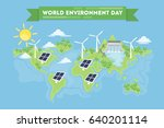world environment day. | Shutterstock .eps vector #640201114