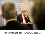 jeremy corbyn  leader of the... | Shutterstock . vector #640204090