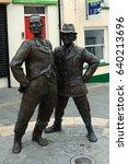 downpatrick  northern ireland   ... | Shutterstock . vector #640213696