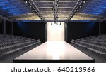 interior of the auditorium with ... | Shutterstock . vector #640213966