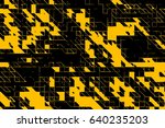 modern colorful abstract pixel... | Shutterstock . vector #640235203