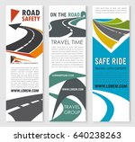 road safety  travel and car... | Shutterstock .eps vector #640238263
