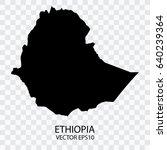 transparent   vector black map... | Shutterstock .eps vector #640239364