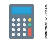 calculator  | Shutterstock .eps vector #640246126