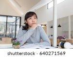 asian girl female teenager...   Shutterstock . vector #640271569