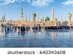 medina  saudi arabia   feb 2 ... | Shutterstock . vector #640343608