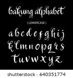 bakung vector alphabet... | Shutterstock .eps vector #640351774