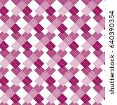 pink shade cross shape with dot ... | Shutterstock .eps vector #640390354