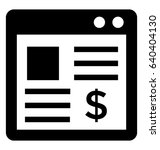 banking vector icon | Shutterstock .eps vector #640404130