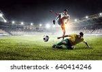 football hottest moments | Shutterstock . vector #640414246