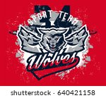 design for printing on t shirts ... | Shutterstock .eps vector #640421158