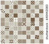 vector graphic vintage textures ...   Shutterstock .eps vector #640442083
