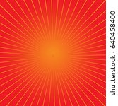 retro sunburst background with... | Shutterstock .eps vector #640458400
