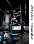 sexy fitness girl in the gym | Shutterstock . vector #640461334