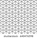 abstract geometric pattern in...   Shutterstock .eps vector #640476598