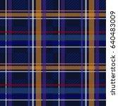 seamless plaid lumberjack and... | Shutterstock .eps vector #640483009