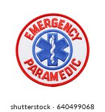 round fabric emergency... | Shutterstock . vector #640499068