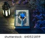 quran or kuran  the islamic... | Shutterstock . vector #640521859