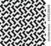 irregular maze lines. zigzag... | Shutterstock .eps vector #640528648