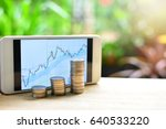 planning coins saving fund to...   Shutterstock . vector #640533220