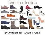vector trendy collection of men'...   Shutterstock .eps vector #640547266