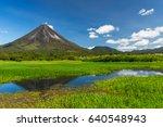 arenal volcano costa rica | Shutterstock . vector #640548943