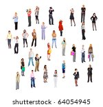 all the colors | Shutterstock . vector #64054945